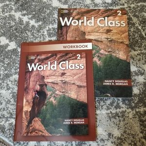World Class 2 students book and work book